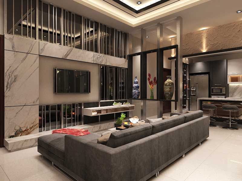 Imelda Private Residence Makassar, Makassar City, South Sulawesi, Indonesia Makassar Living-Dining-Pantry  24993