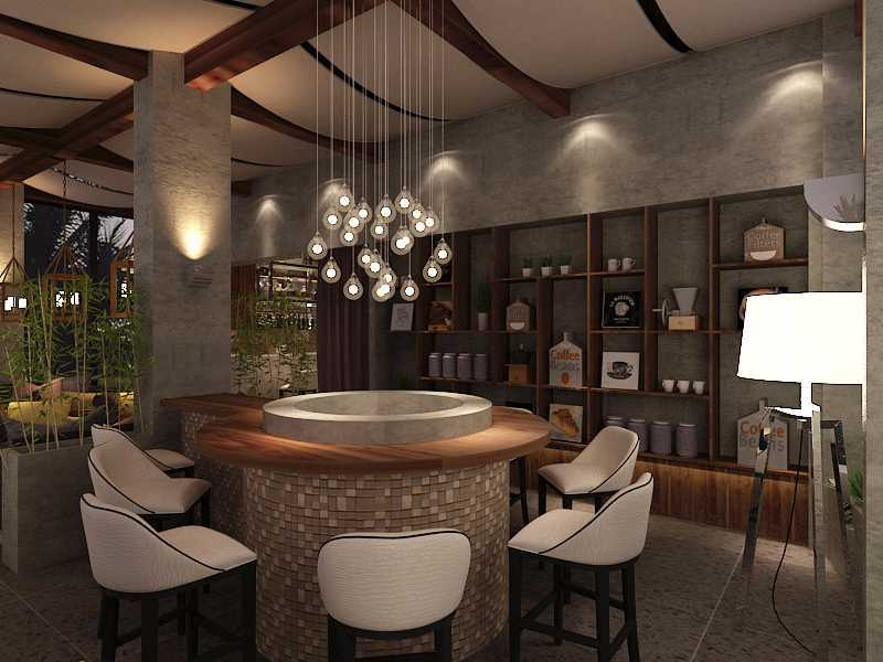 Imelda Rooftop Cafe Manado City, North Sulawesi, Indonesia Makassar Rooftop-Common-Lounge-Area-2 Kontemporer 36026