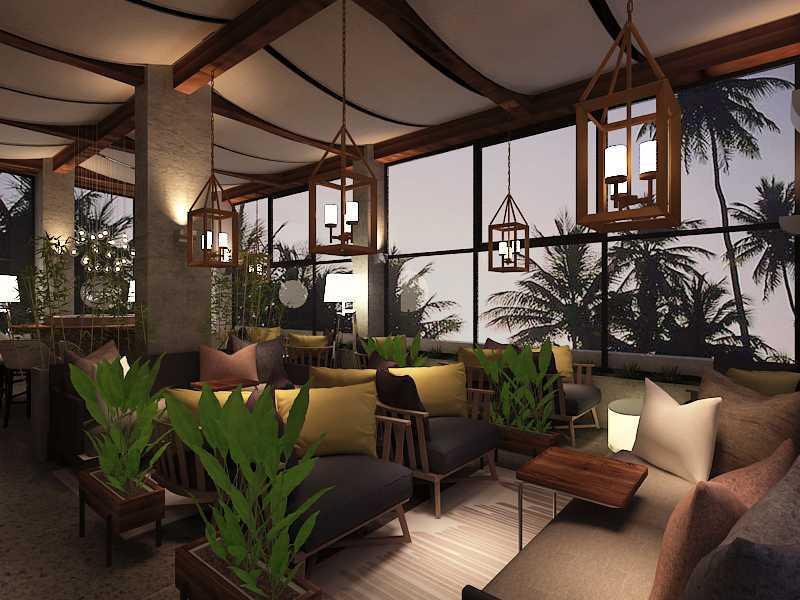 Imelda Rooftop Cafe Manado City, North Sulawesi, Indonesia Makassar Rooftop-Common-Lounge-Area Kontemporer 36027