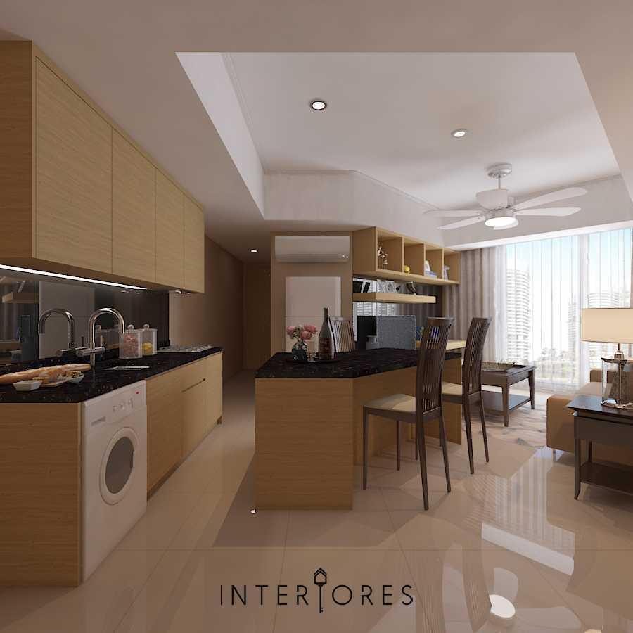 Foto inspirasi ide desain dapur kontemporer Kitchen oleh INTERIORES Interior Consultant & Build di Arsitag