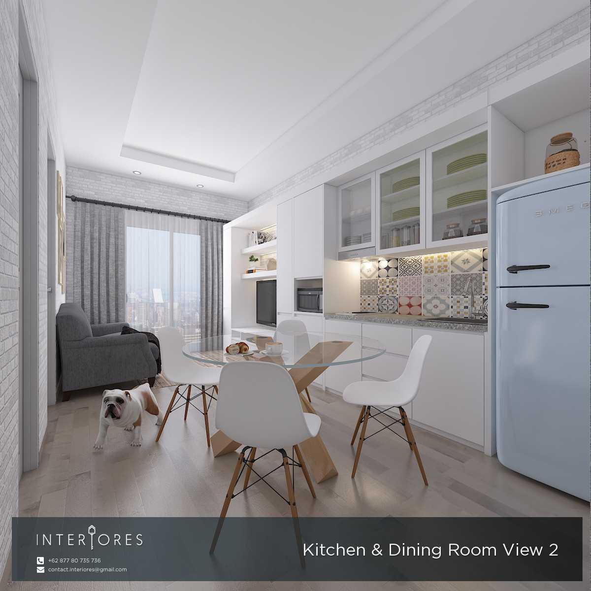 Foto inspirasi ide desain dapur skandinavia Kitchen & dining room oleh INTERIORES Interior Consultant & Build di Arsitag