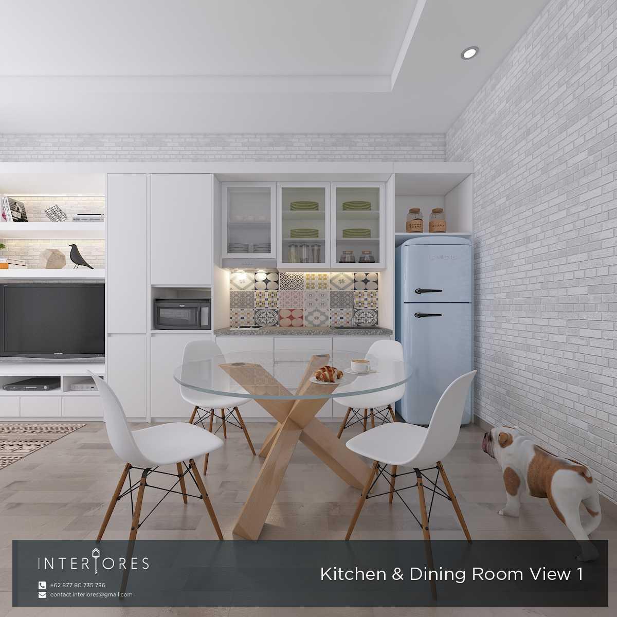 Interiores Interior Consultant & Build P. Scandi Pejaten Pejaten Kitchen & Dining Room Modern,skandinavia 17962