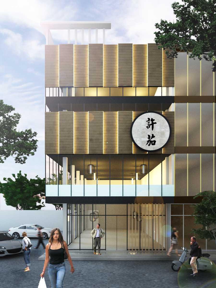 Foto inspirasi ide desain restoran asian Render oleh rendrahandy di Arsitag
