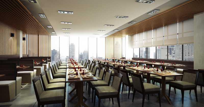 Rendrahandy Hong He Restaurant Pantai Indah Kapuk Pantai Indah Kapuk Dining Area Minimalis,asian,wood,modern 17848