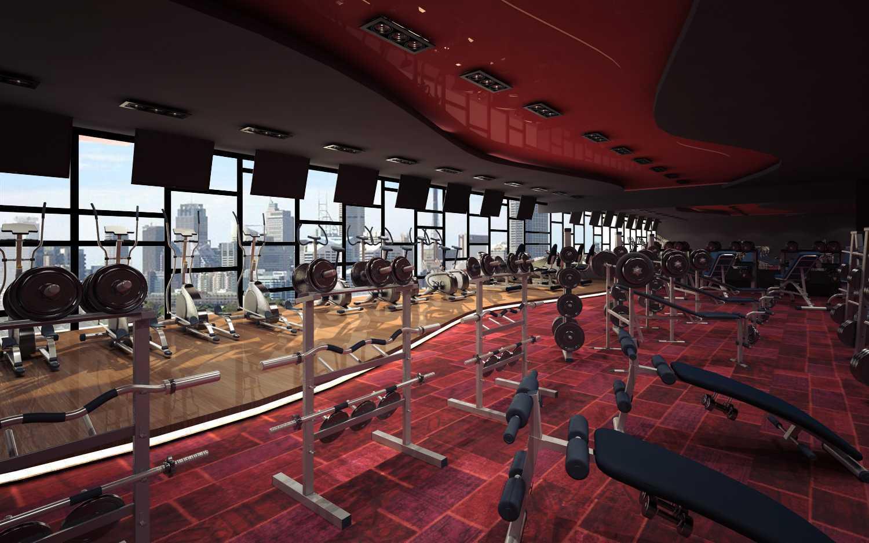 Foto inspirasi ide desain gym modern Gym oleh rendrahandy di Arsitag