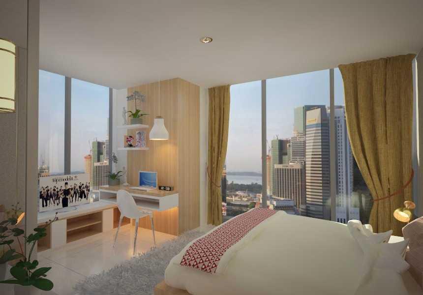 Letare Sitompul Interior 2 Bedroom Apartment Jakarta Jakarta Bedroom Skandinavia 17981