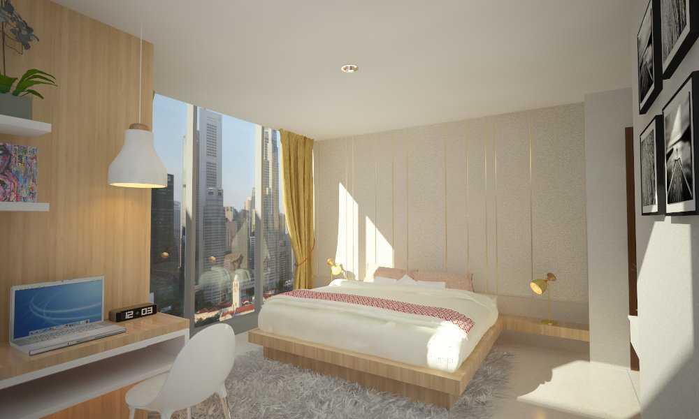 Letare Sitompul Interior 2 Bedroom Apartment Jakarta Jakarta Bedroom Skandinavia 18400
