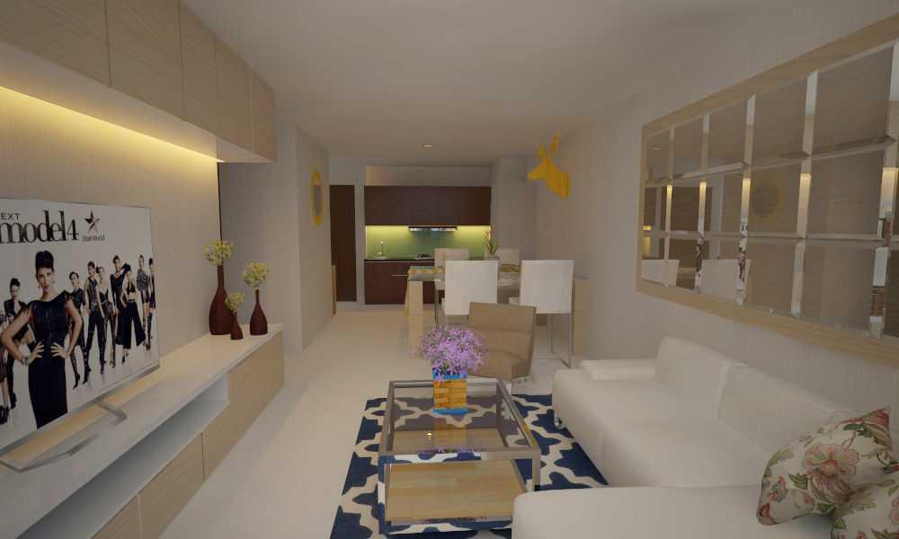 Letare Sitompul Interior 2 Bedroom Apartment Jakarta Jakarta Ruang-Tamu Skandinavia 18402