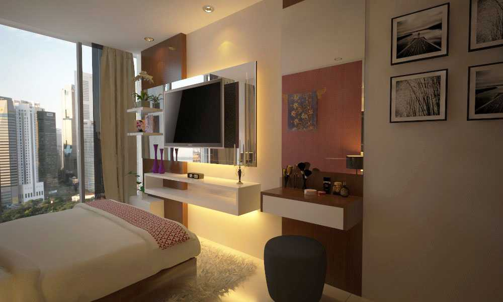 Letare Sitompul Apartment Interior Design - 04 Jakarta Jakarta Bedroom Kontemporer 18514
