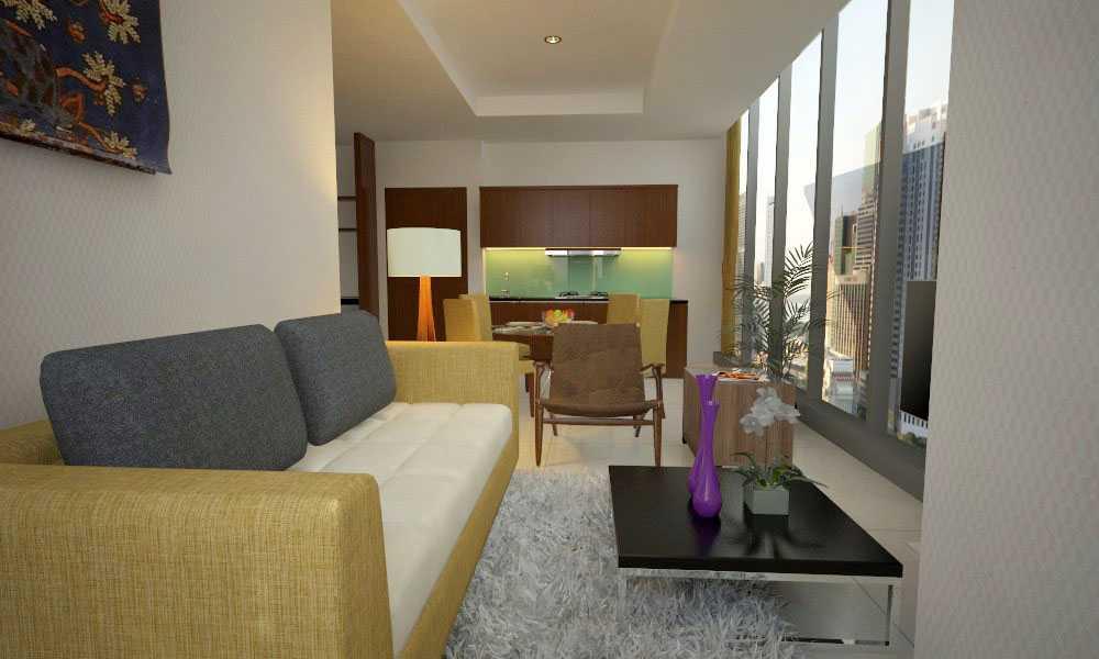 Letare Sitompul Apartment Interior Design - 04 Jakarta Jakarta Ruang-Tamu Kontemporer 18517