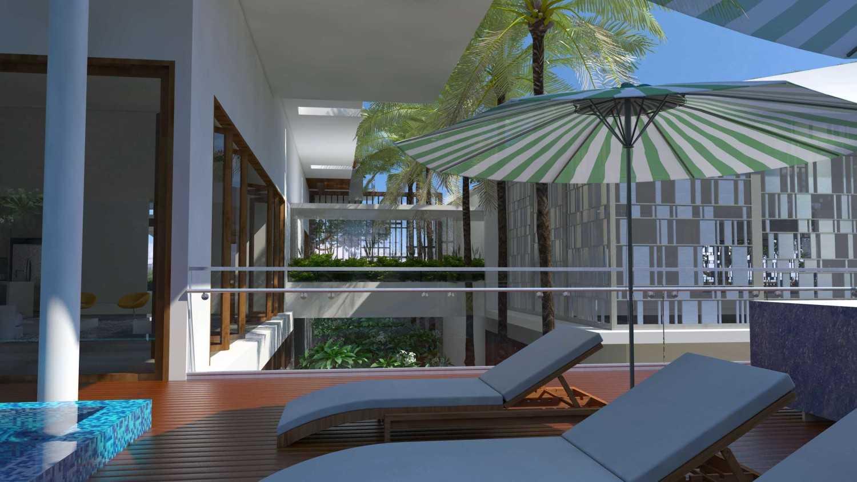 Letare Sitompul Ricca House Design Jakarta Jakarta Garden-View-Cam1 Modern 21565
