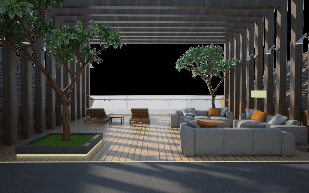 Letare Sitompul Ricca House Design Jakarta Jakarta Seating Area Tropis 26170