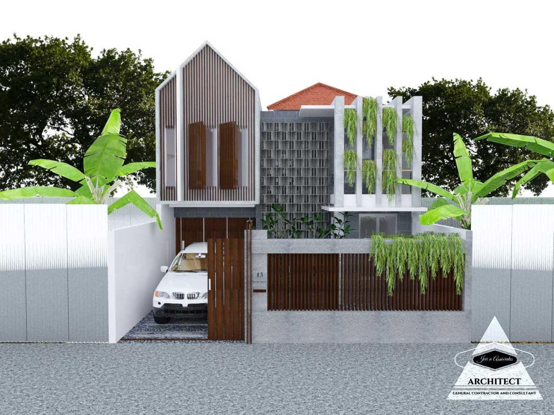 Jevi N Associates Viki House Cipondoh, Tangerang Cipondoh, Tangerang Facade  24201