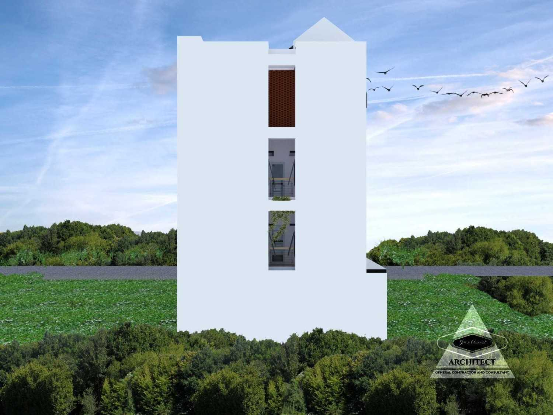 Jevi N Associates Owl Residence Lippo Karawaci Lippo Karawaci Back View Industrial,kontemporer 24209