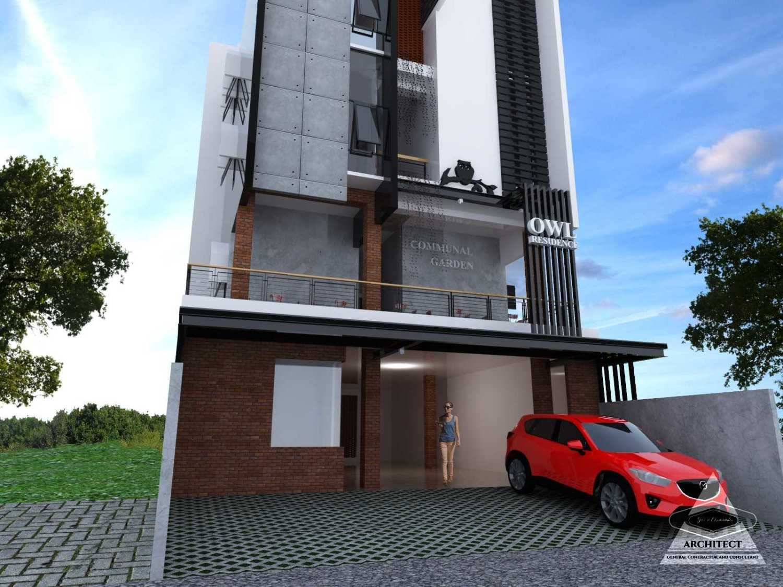 Jevi N Associates Owl Residence Lippo Karawaci Lippo Karawaci Facade Industrial,kontemporer 24214