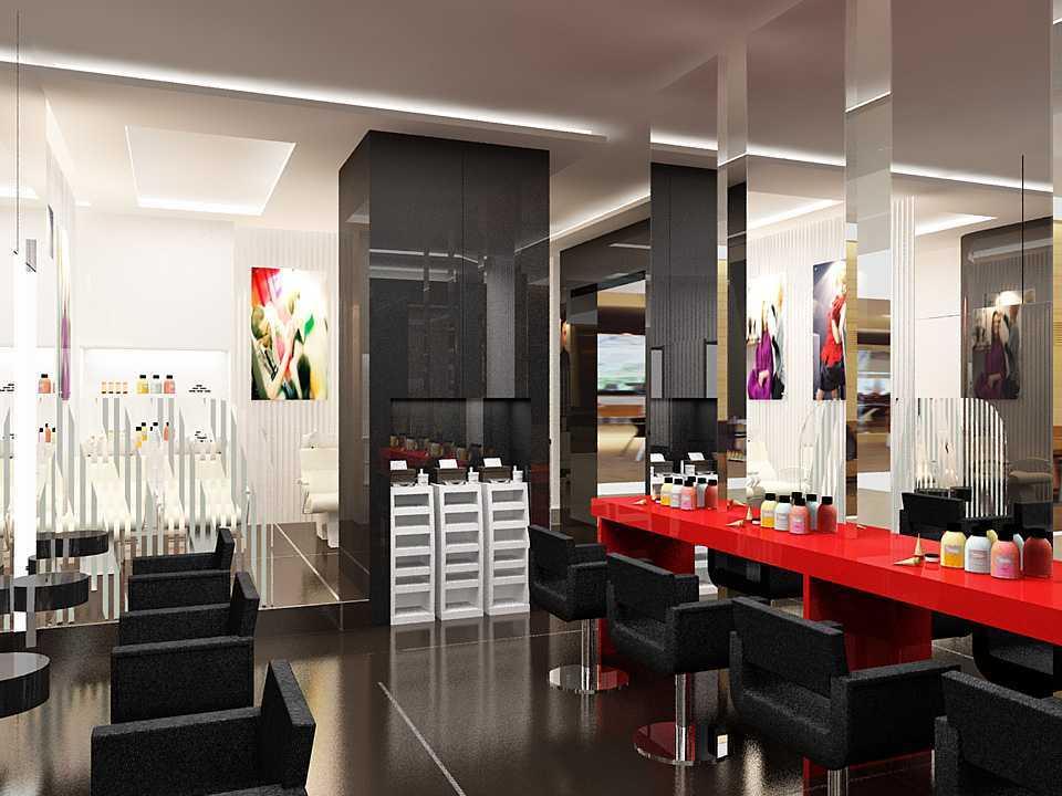 Dnd Design Studio Rudi Salon Plaza Indonesia Plaza Indonesia Salon-Rudy Modern 18417
