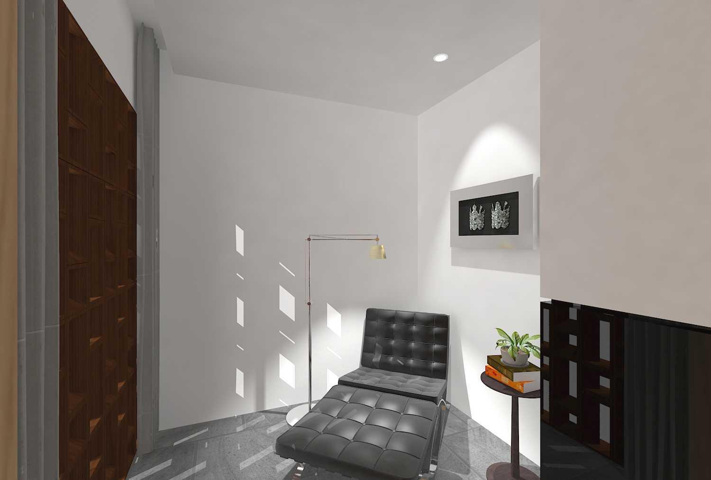 E'architect (Emil Yusman) Desain Interior Rumah Riscon Hills Jl. Bambu Hitam No.76, Rt.4/rw.1, Cipayung, Kota Jakarta Timur, Daerah Khusus Ibukota Jakarta 13840, Indonesia East Jakarta Lounge Modern 20168