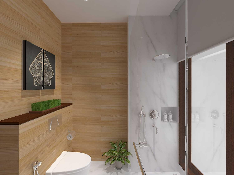 E'architect (Emil Yusman) Desain Interior Rumah Riscon Hills Jl. Bambu Hitam No.76, Rt.4/rw.1, Cipayung, Kota Jakarta Timur, Daerah Khusus Ibukota Jakarta 13840, Indonesia East Jakarta Guest-Bathroom- Modern 20174