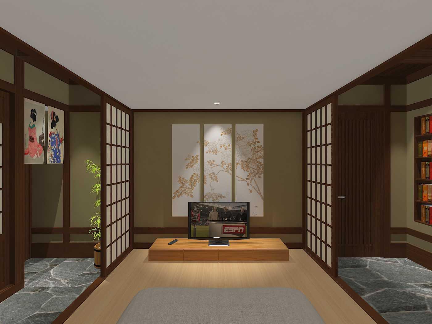 E'architect (Emil Yusman) Desain Interior Rumah Riscon Hills Jl. Bambu Hitam No.76, Rt.4/rw.1, Cipayung, Kota Jakarta Timur, Daerah Khusus Ibukota Jakarta 13840, Indonesia East Jakarta Children-Bedroom Modern 20177