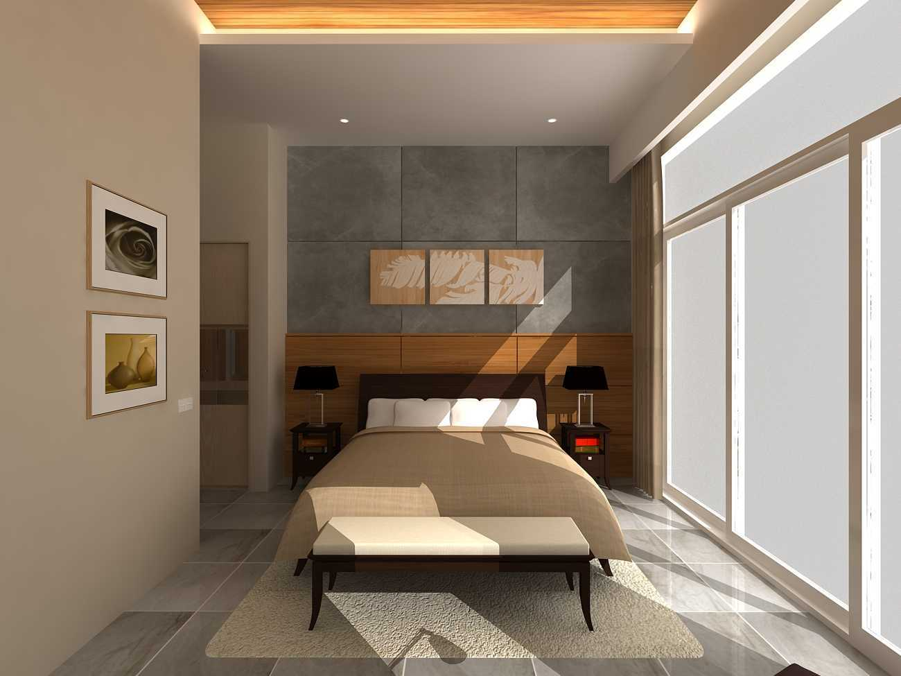 Emil Yusman (E'architect) Sunter Paradise  Jl. Paradise 8, Sunter Agung, Tj. Priok, Kota Jkt Utara, Daerah Khusus Ibukota Jakarta 14350, Indonesia North Jakarta Master-Bedroom  20188