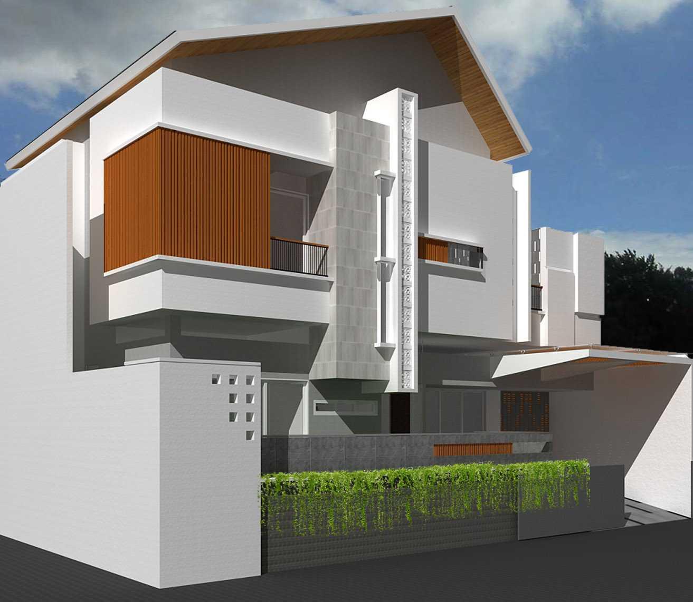 Emil Yusman (E'architect) Sunter Paradise  Jl. Paradise 8, Sunter Agung, Tj. Priok, Kota Jkt Utara, Daerah Khusus Ibukota Jakarta 14350, Indonesia North Jakarta Side View  20195
