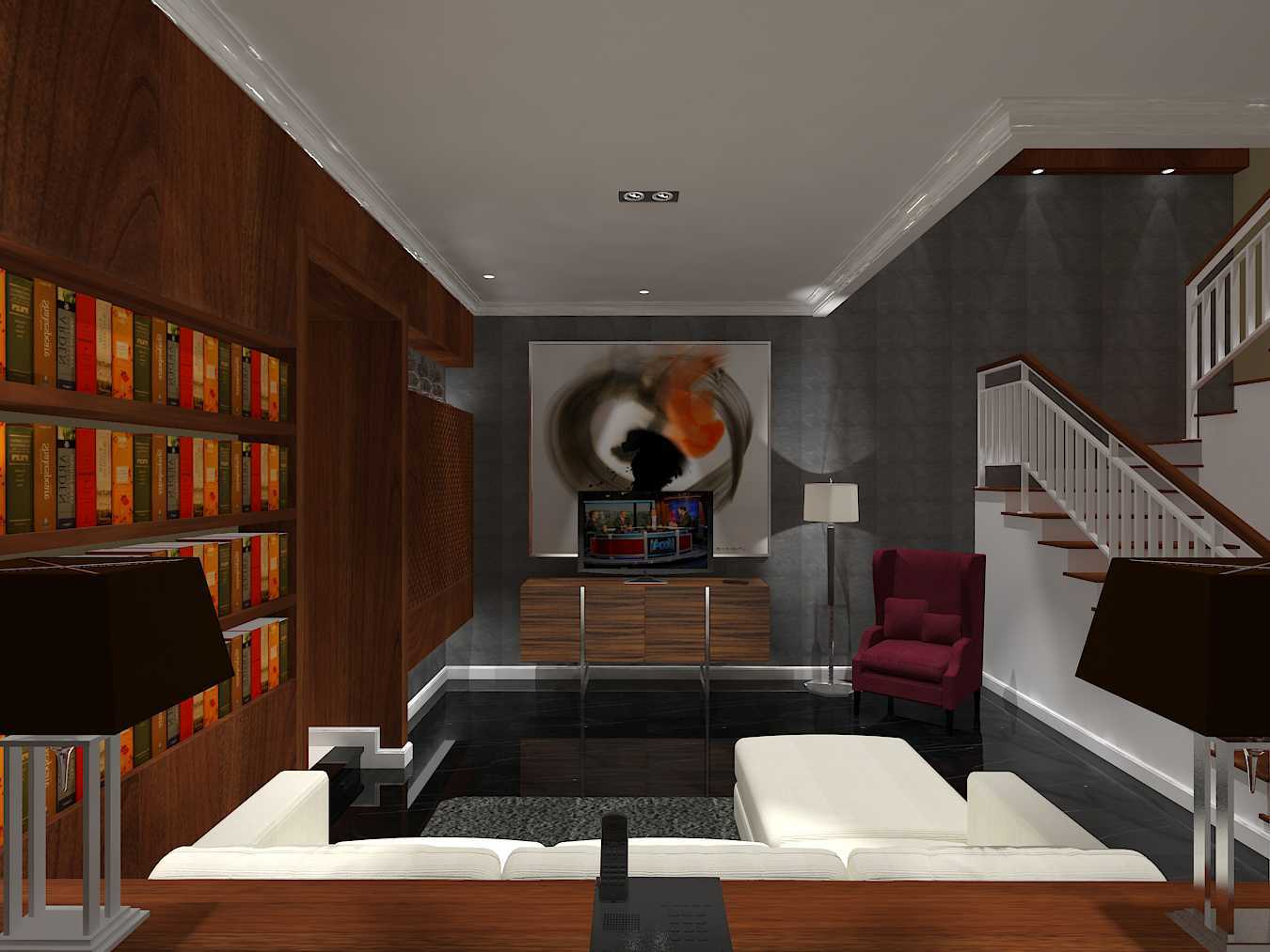 Emil Yusman (E'architect) Tebet Barat Jl. Tebet Barat Viii, Tebet Bar., Tebet, Kota Jakarta Selatan, Daerah Khusus Ibukota Jakarta 12810, Indonesia South Jakarta Living-Room  20196