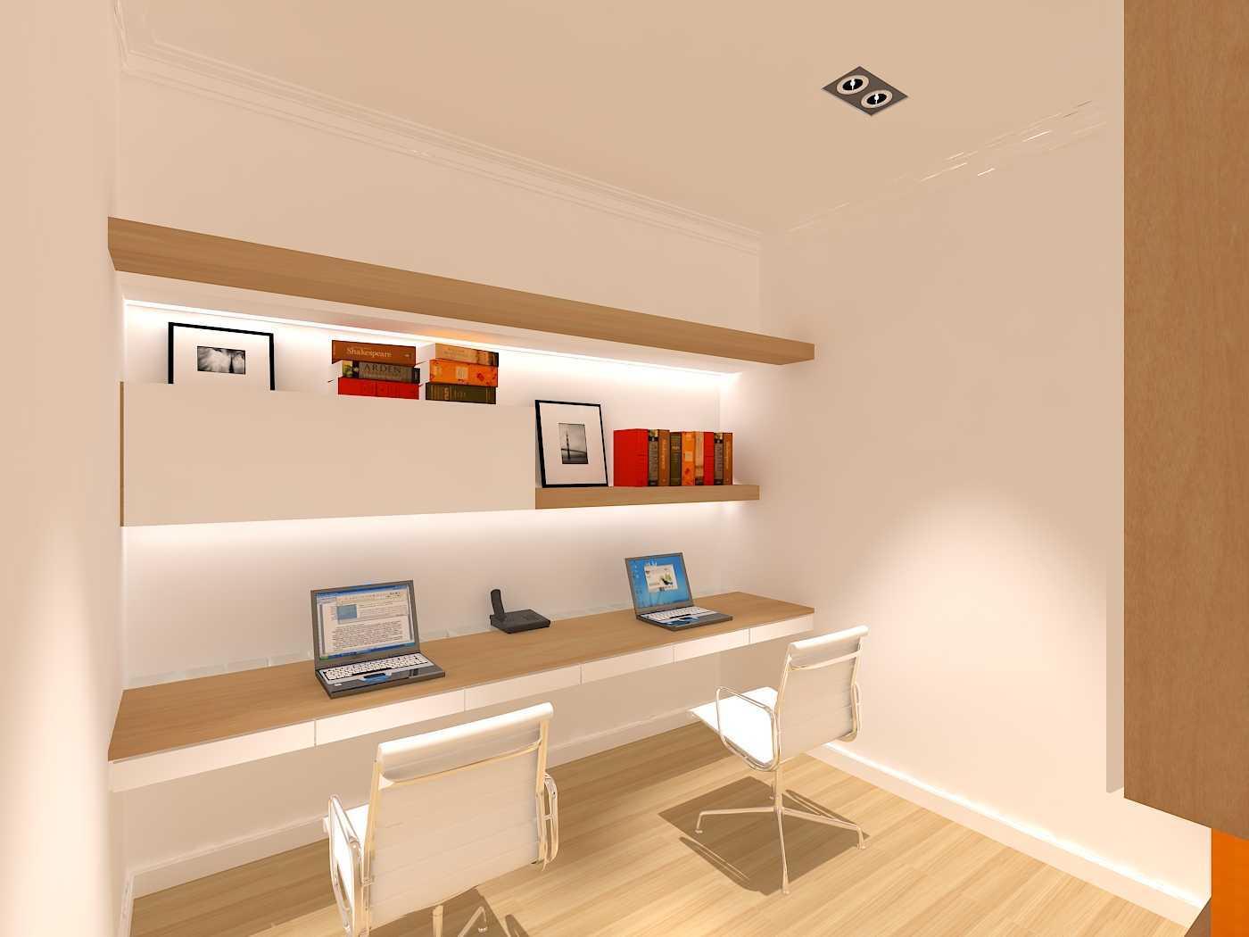 Emil Yusman (E'architect) Tebet Barat Jl. Tebet Barat Viii, Tebet Bar., Tebet, Kota Jakarta Selatan, Daerah Khusus Ibukota Jakarta 12810, Indonesia South Jakarta Study-Room  20198