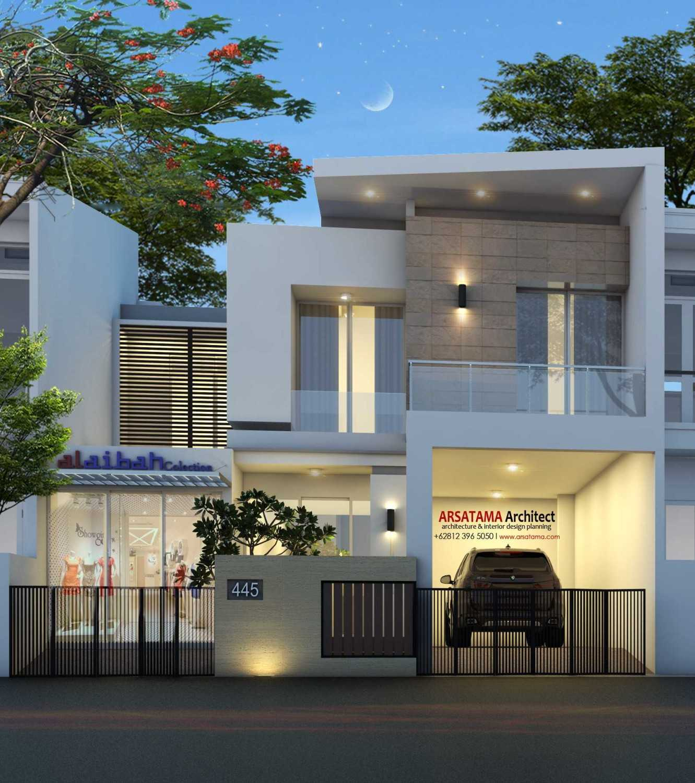 Foto inspirasi ide desain rumah kontemporer Jasa-arsitekjasa-arsitek-jogjaresidentialkomersialvilla oleh Arsatama Architect di Arsitag