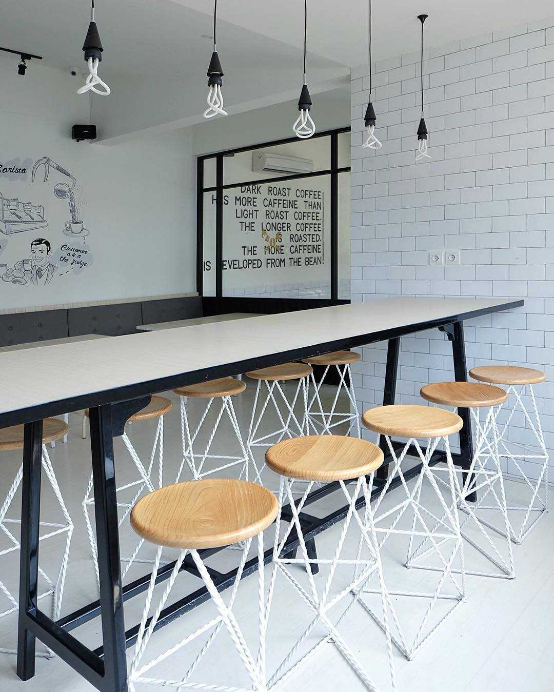 Soseki Design Studio Viverri Coffee Shop Muara Angke Muara Angke Seating Area Interior View Modern,skandinavia 22397