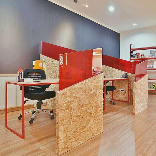 Foto inspirasi ide desain ruang kerja skandinavia Anaya-group-4 oleh SOSEKI DESIGN STUDIO di Arsitag