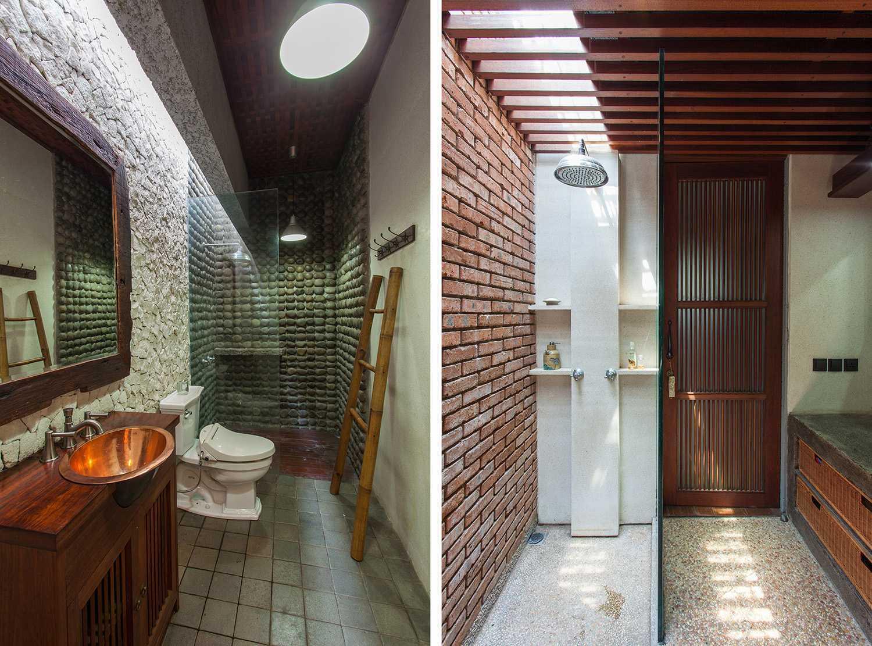 I N S P I R A T I O Tanjung Mas House Jakarta Selatan Jakarta Selatan Bathroom Modern,tropis 19236