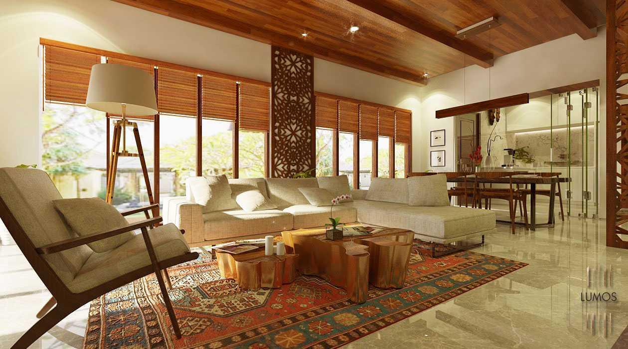 Foto inspirasi ide desain ruang keluarga tradisional Living room oleh Lumos Interior Design di Arsitag