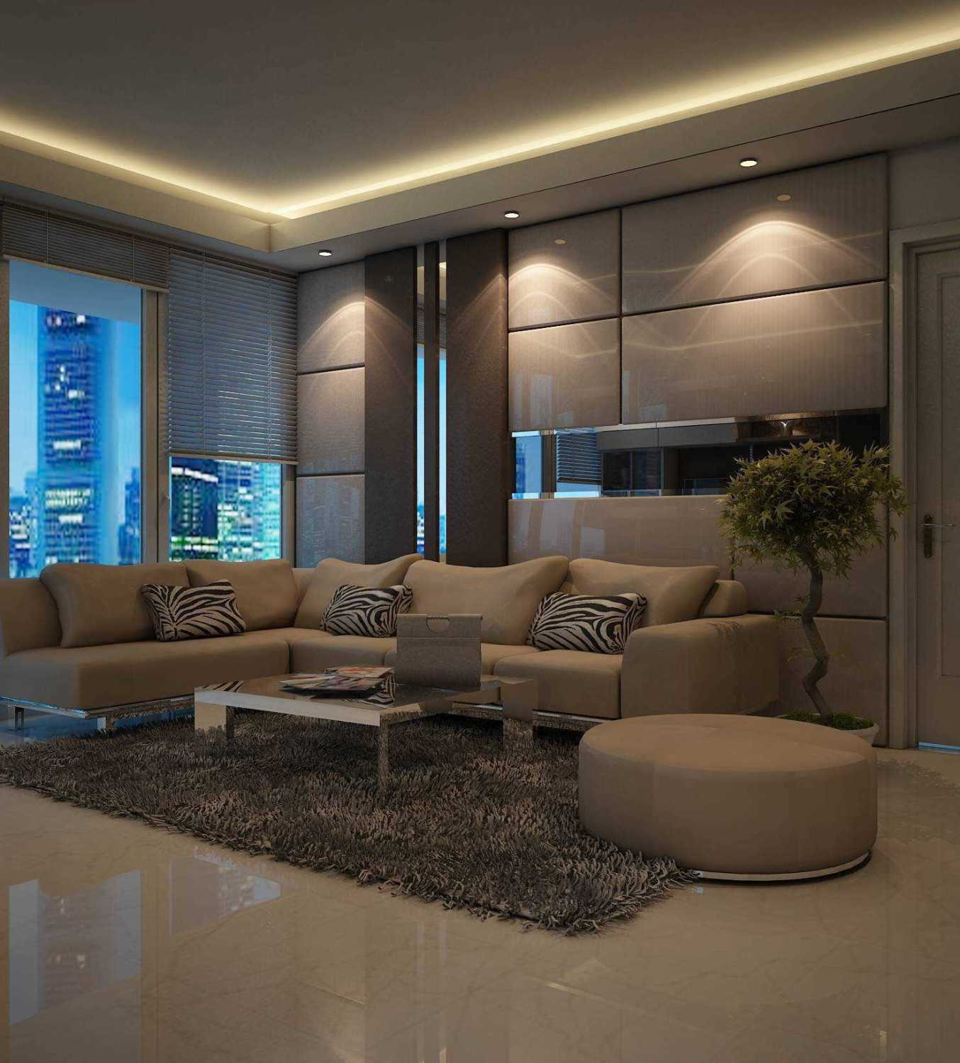Expo Tje. Aa.aa.bsc.ba.ma The Suitroom With Office Function Apartment Jakarta, Indonesia Green Hill Suitroom Apartment Urbanism Living Room Modern 26536