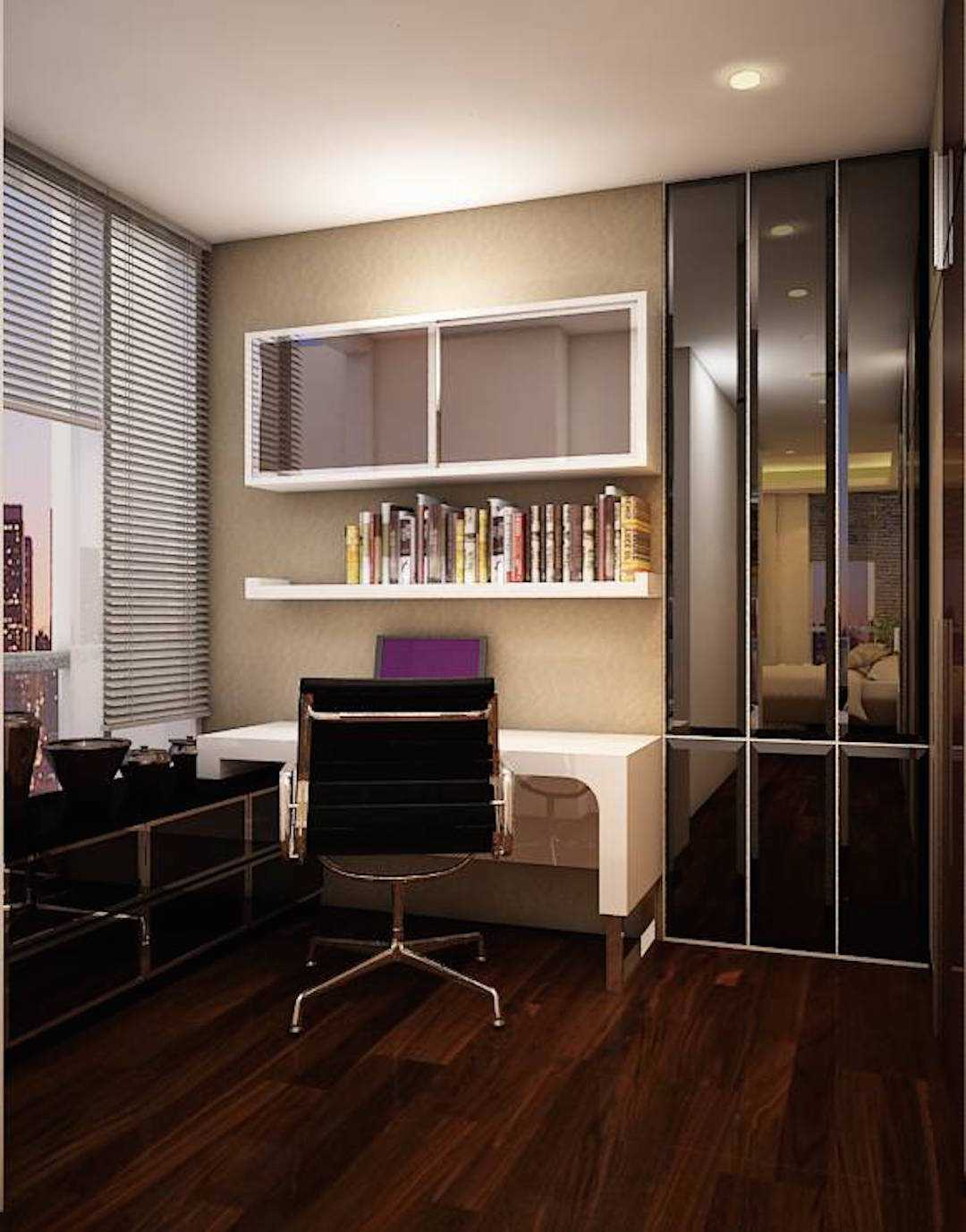 Expo Tje. Aa.aa.bsc.ba.ma The Suitroom With Office Function Apartment Jakarta, Indonesia Green Hill Suitroom Apartment Working Area Modern 26542