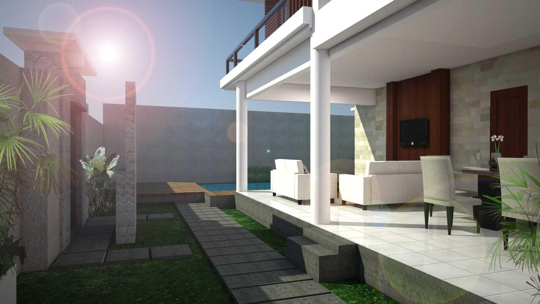 Cardia Architect Villa Surya Canggu, Bali Canggu, Bali View From Carport Modern 21767