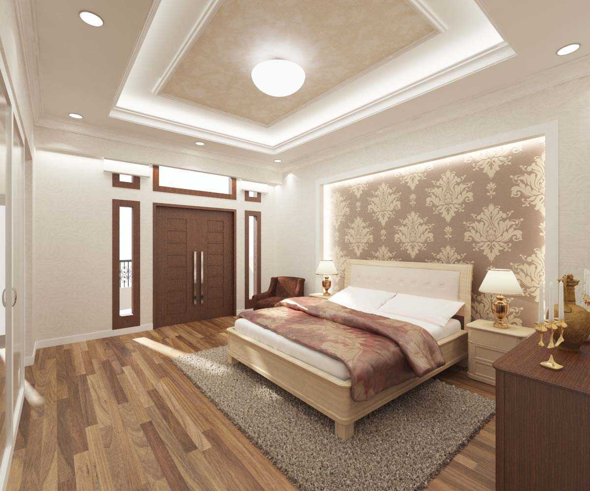 Valentine Oriza Modern Classic House Design Ketapang Regency, West Kalimantan, Indonesia Pontianak, West Kalimantan, Indonesia Master-Bedroom-01 Kontemporer 30302