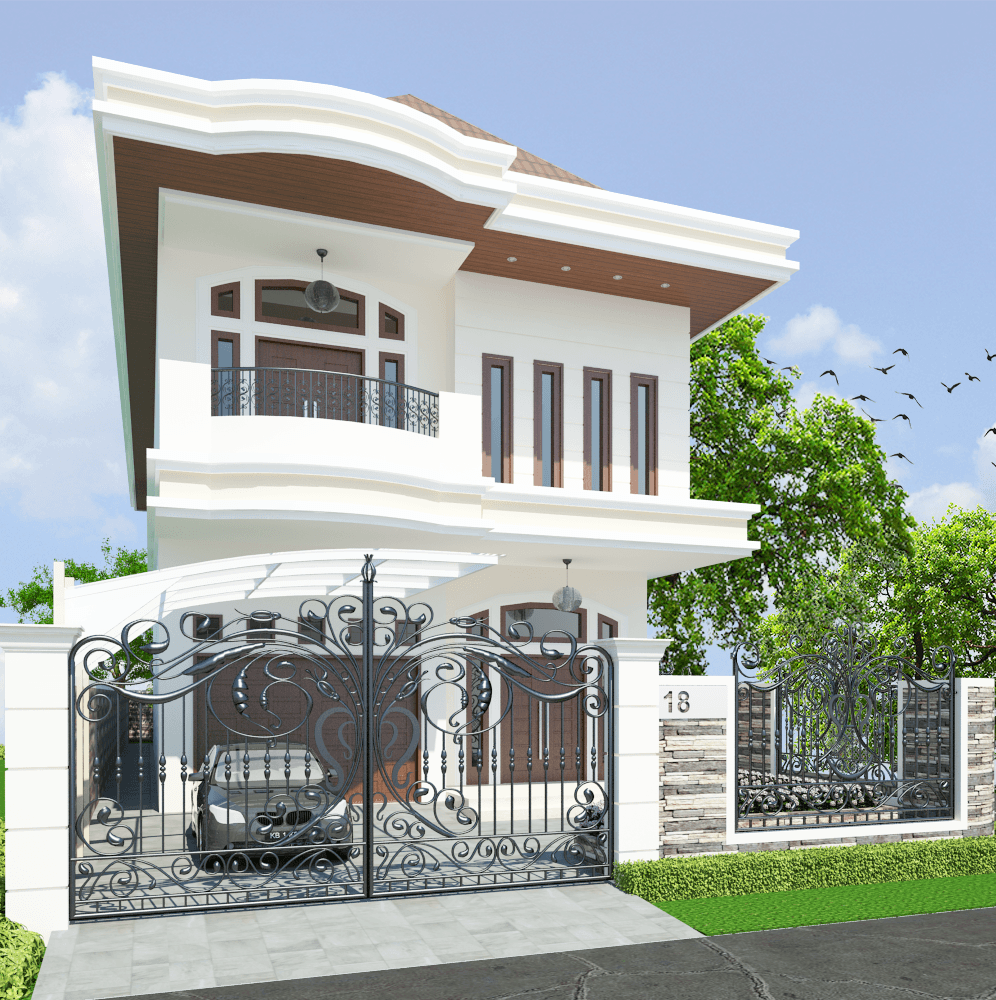 Valentine Oriza Modern Classic House Design Ketapang Regency, West Kalimantan, Indonesia Pontianak, West Kalimantan, Indonesia 002 Kontemporer 30304