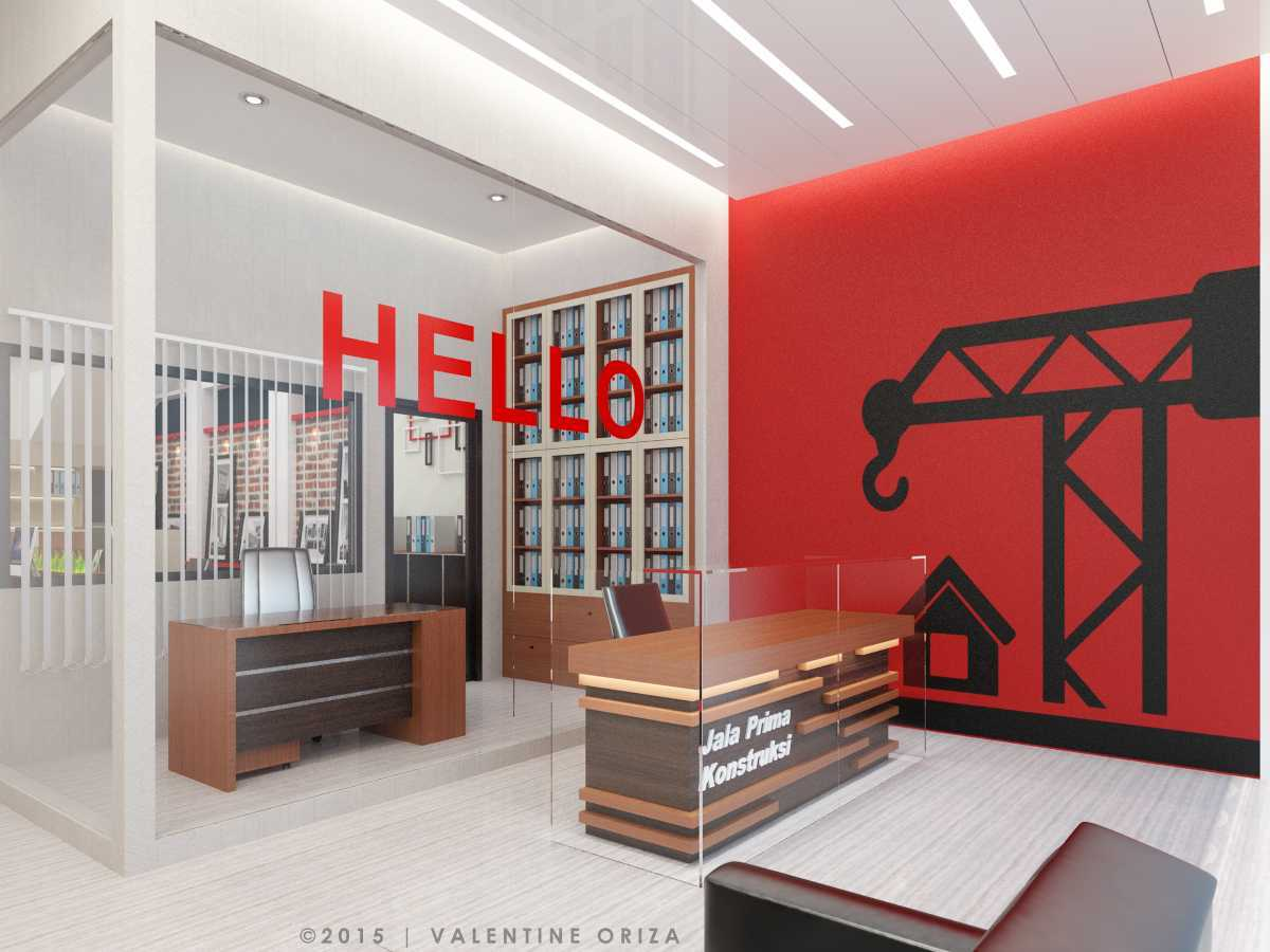 Valentine Oriza Construction Office Design  Ketapang Regency, West Kalimantan, Indonesia Jpeg-Reception-01 Kontemporer 30328