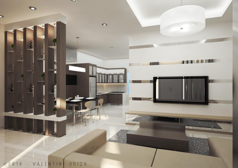 Valentine Oriza Modern Home  Jakarta, Indonesia Copyright-Living-Room-2 Modern 30378