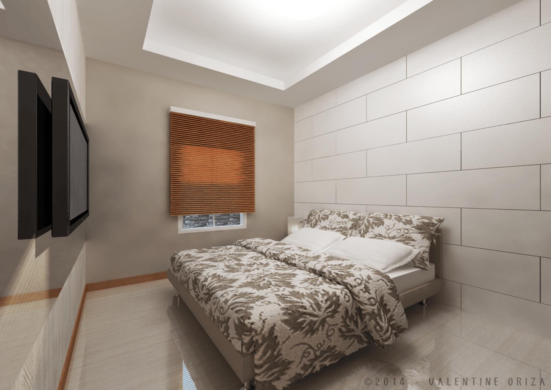 Valentine Oriza Modern Home  Jakarta, Indonesia Copyright-Master-Bedroom-1  30379