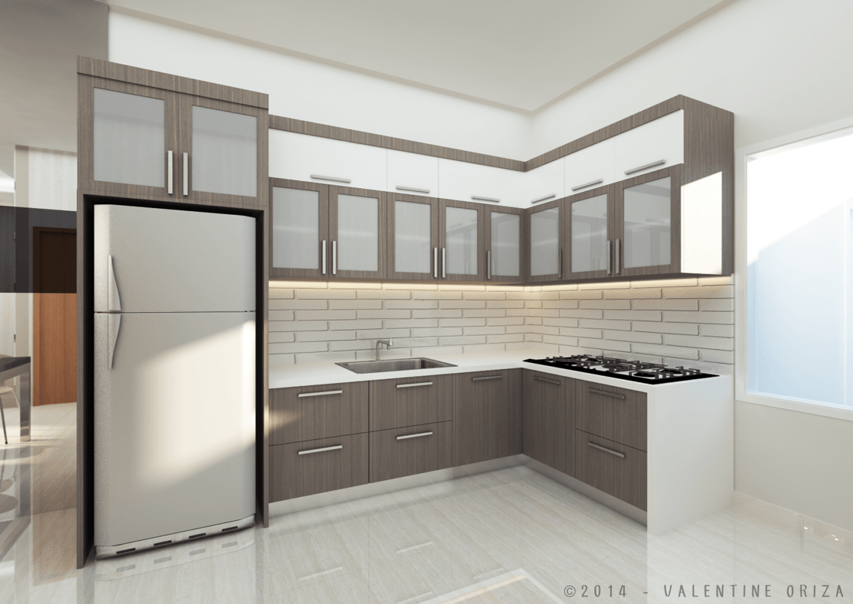 Valentine Oriza Modern Home  Jakarta, Indonesia Copyright-Kitchen Modern 30384