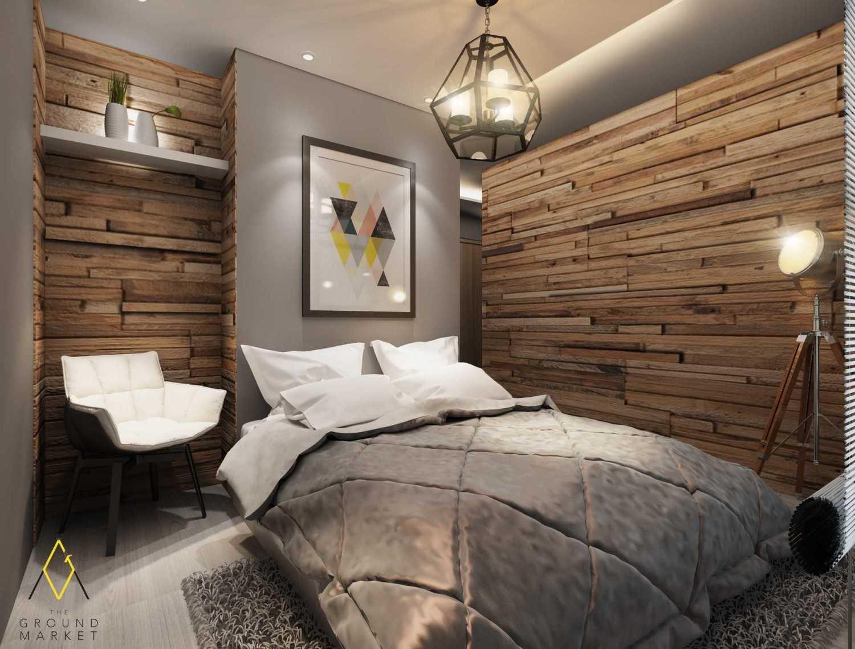 Foto inspirasi ide desain kamar tidur industrial Bedroom oleh The Ground Market di Arsitag