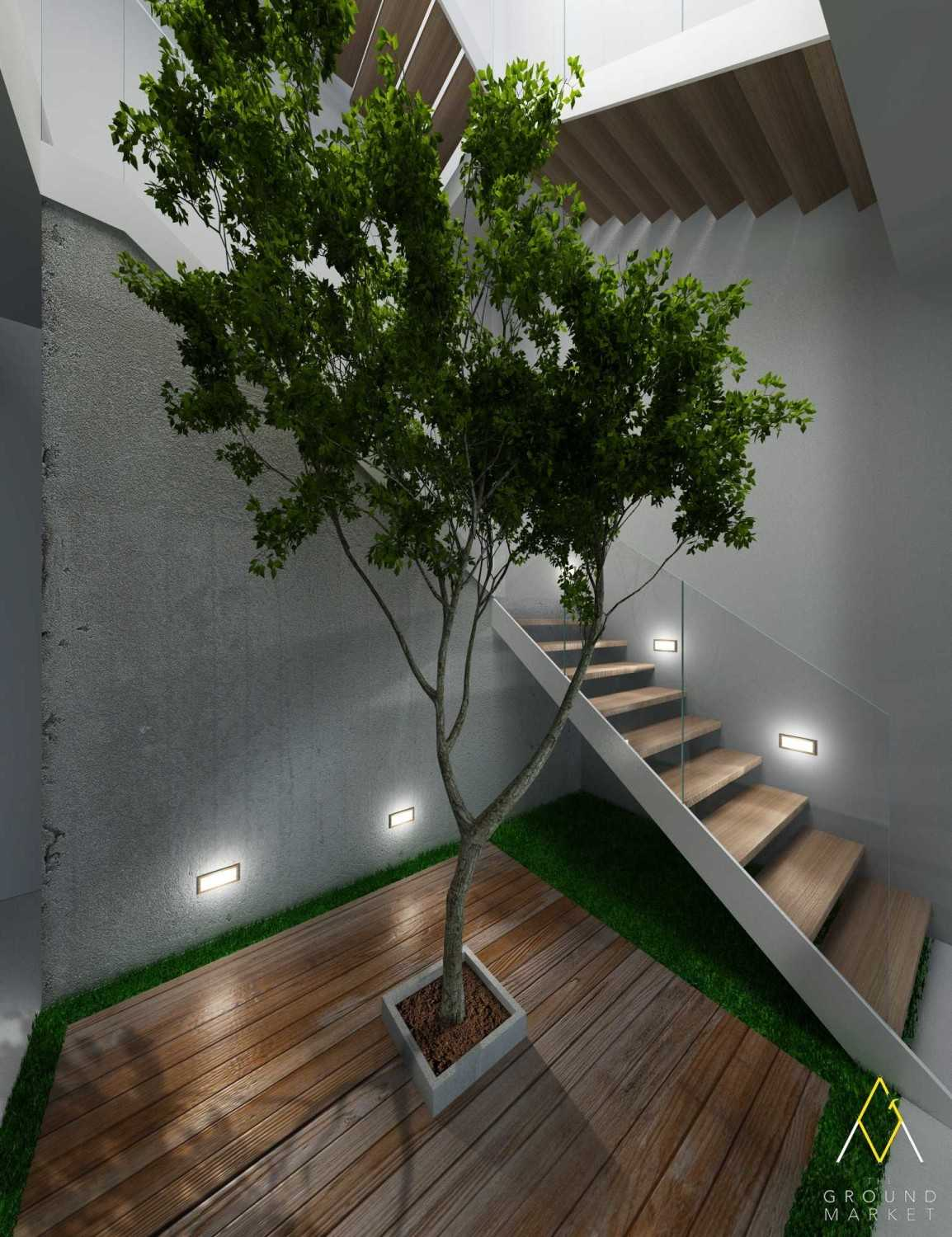 The Ground Market 3D Projects Jakarta Jakarta House Staircase Industrial 19449