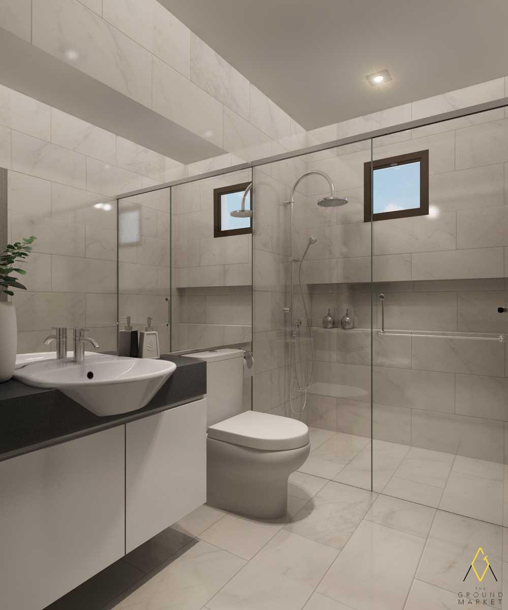The Ground Market Rumah Green Lake Jakarta, Indonesia  Master Bathroom  34155