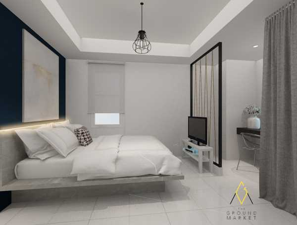 The Ground Market Belmont Residence Studio Apartment Jakarta, Indonesia  Sleeping And Living Area  34163