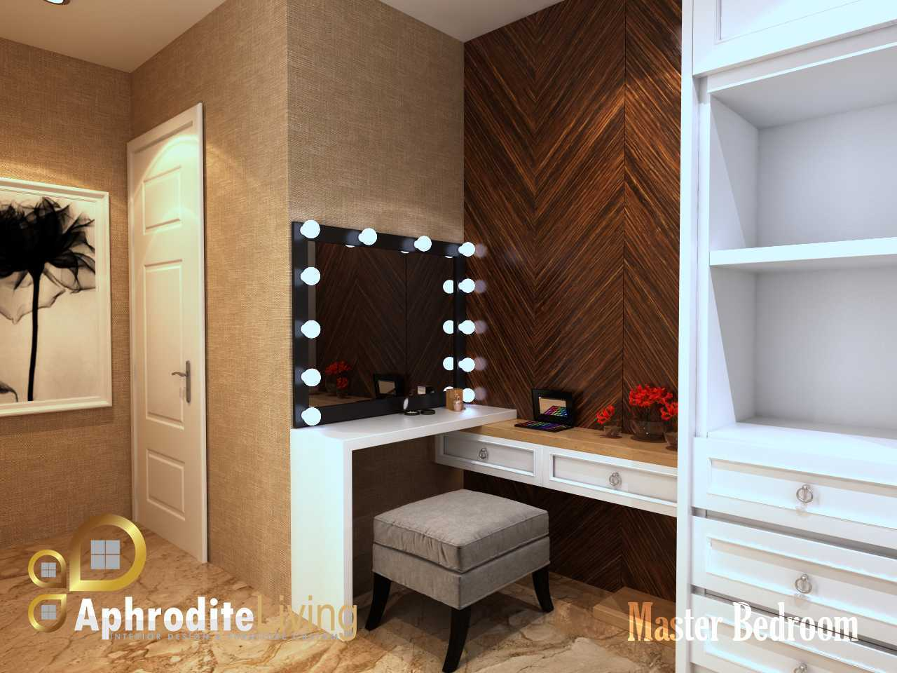 Adhitya Riyaldi Master Bedroom Kembangan, Jakarta, Indonesia Kembangan, Jakarta, Indonesia View 2  28853