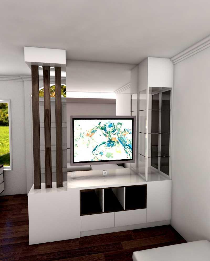 Amadeus Robert Interior Design And Contractor Modern Minimalist House Cikarang, Jakarta Cikarang, Jakarta Tv Modern 19601