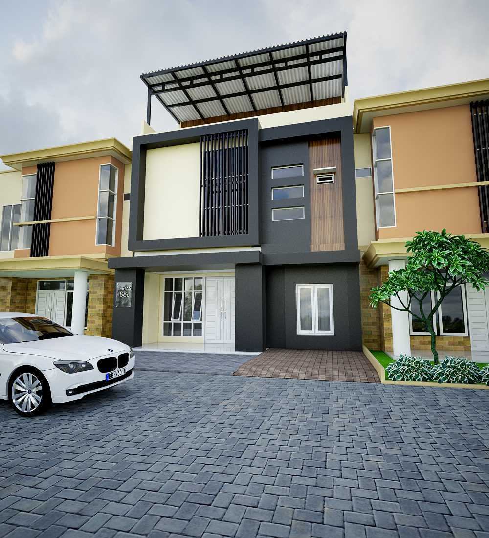 Yay Architect Concept Modern Minimalist House Medan, Indonesia Medan, Indonesia Front View Minimalis,modern 29621