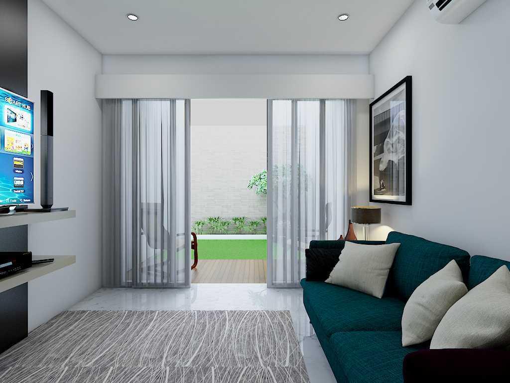 Yay Architect Concept Modern Minimalist House Medan, Indonesia Medan, Indonesia Family Room Minimalis,modern 29626