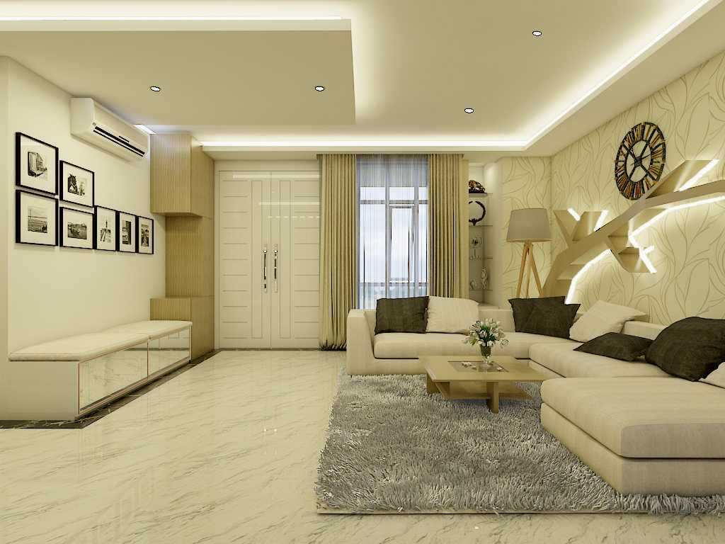 Yay Architect Concept Modern Minimalist House Medan, Indonesia Medan, Indonesia Living Area Minimalis,modern 29627